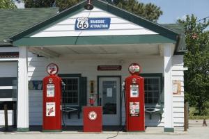 Dwight gas station